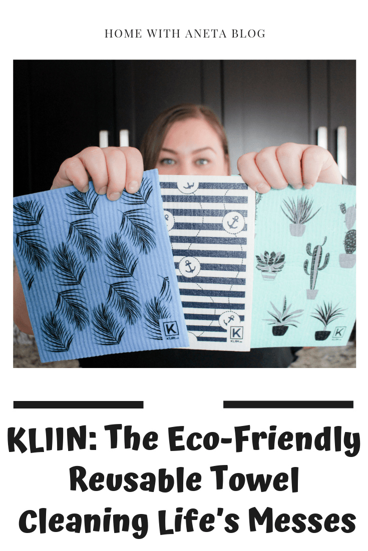 KLIIN: The Eco-Friendly Reusable Towel Cleaning Life's Messes