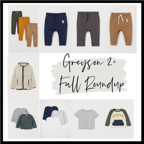 Greyson: Two Years + Fall Style