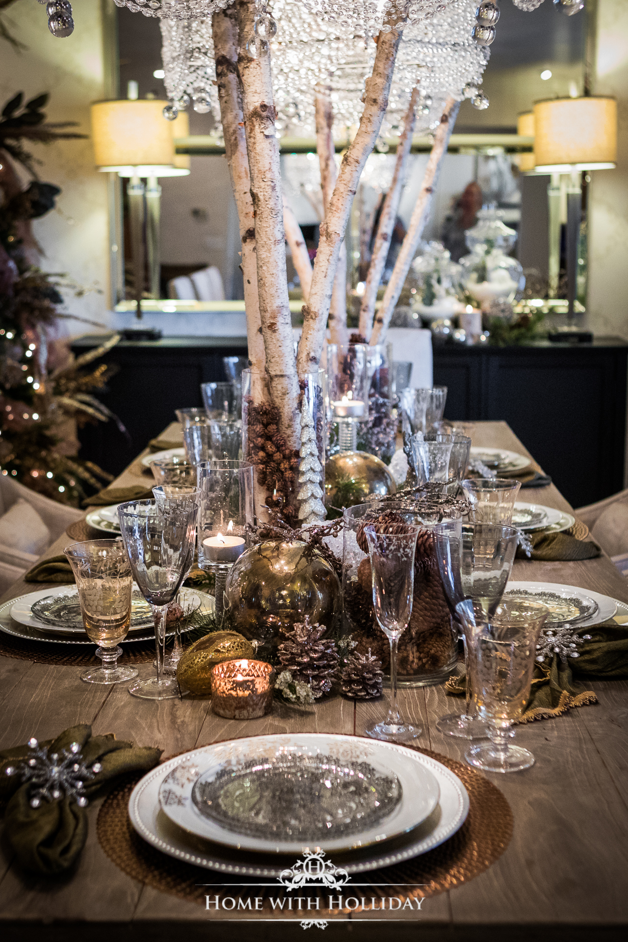 Easy Christmas Decorating Ideas - Use Natural Elements