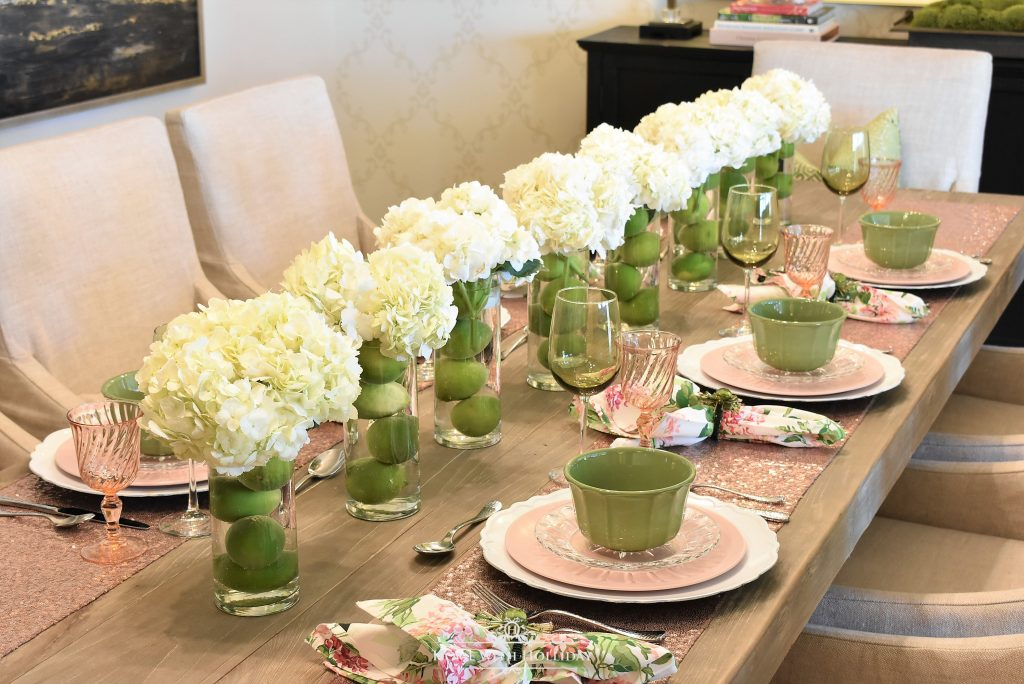 Spring Table Setting For Mothers Day Luncheon Home With