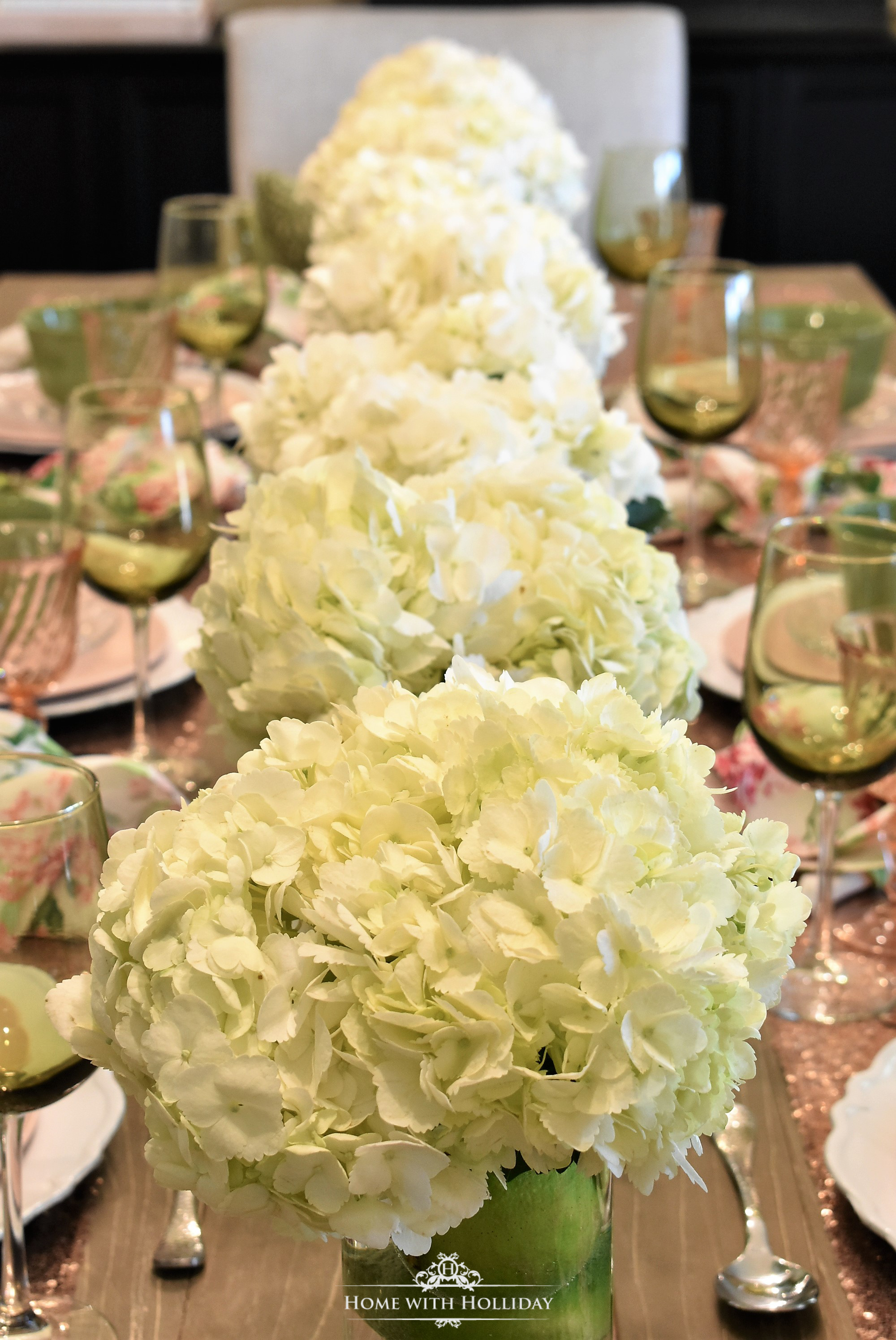 My Top Ten Posts of 2018 - Spring Table Setting for Mother's Day Luncheon - Home with Holliday