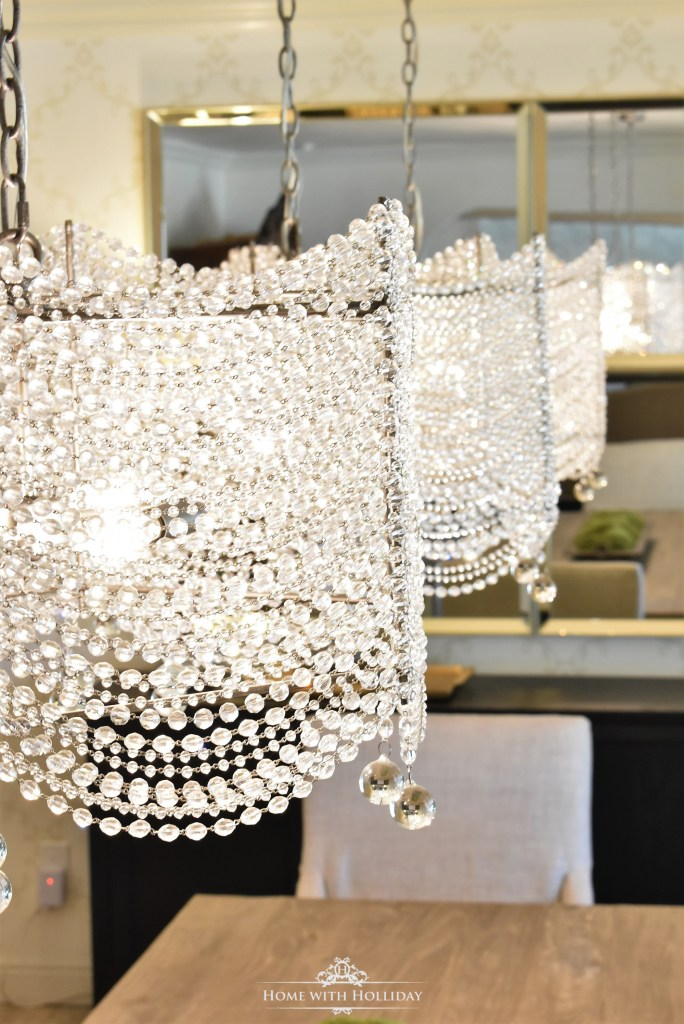 My favorite Crystal Drum Chandeliers - Home with Holliday
