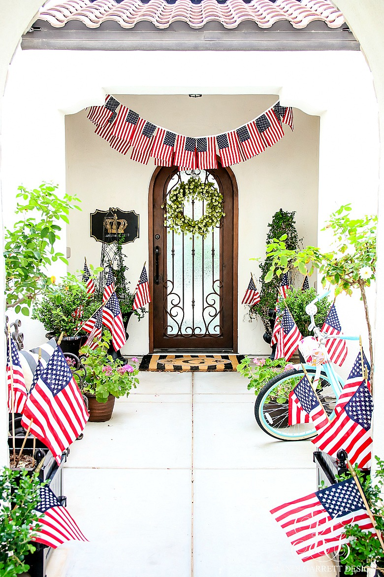 Festive Patriotic Decor Inspirations - Home with Holliday