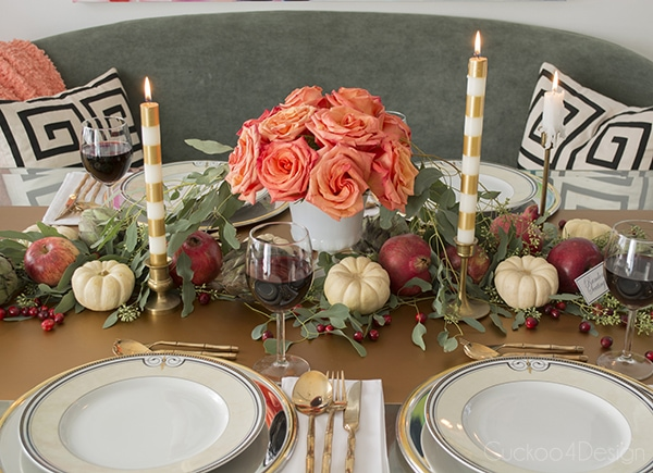 Creative Ideas for Fall or Thanksgiving Table Settings and Home Decor 9