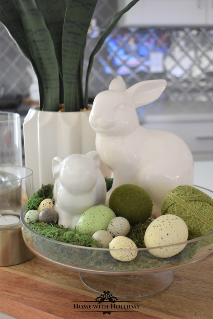 An Easy Spring Vignette Refresh - Three Ways - Home with Holliday