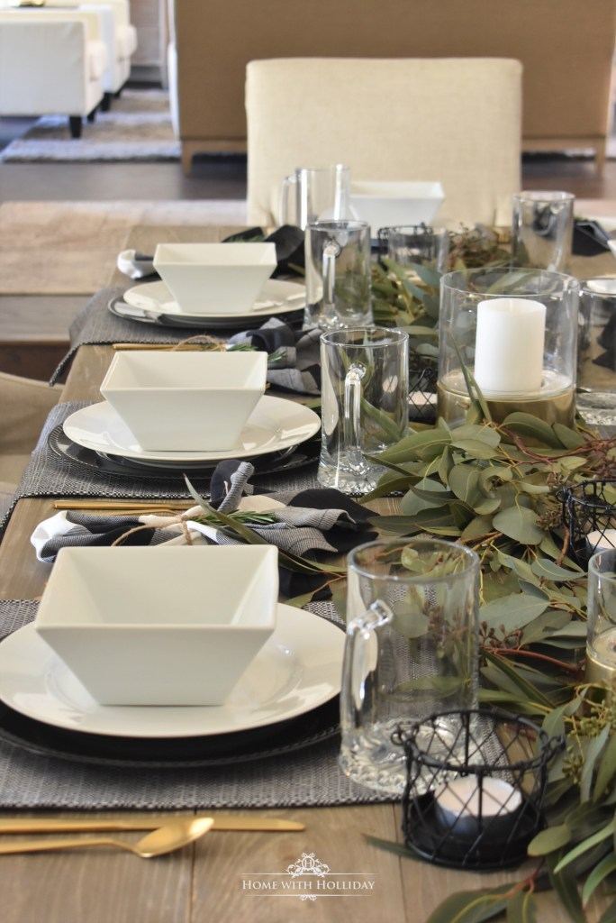 Masculine Dinner Party Ideas - Home with Holliday