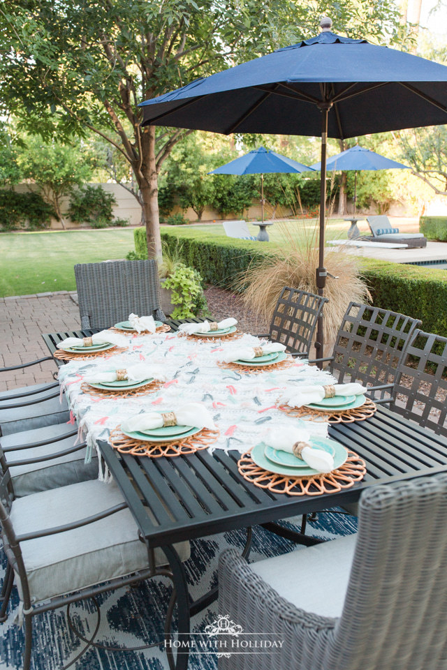 Backyard Party Ideas for Summer - Anthropologie-Inspired Dinner Party