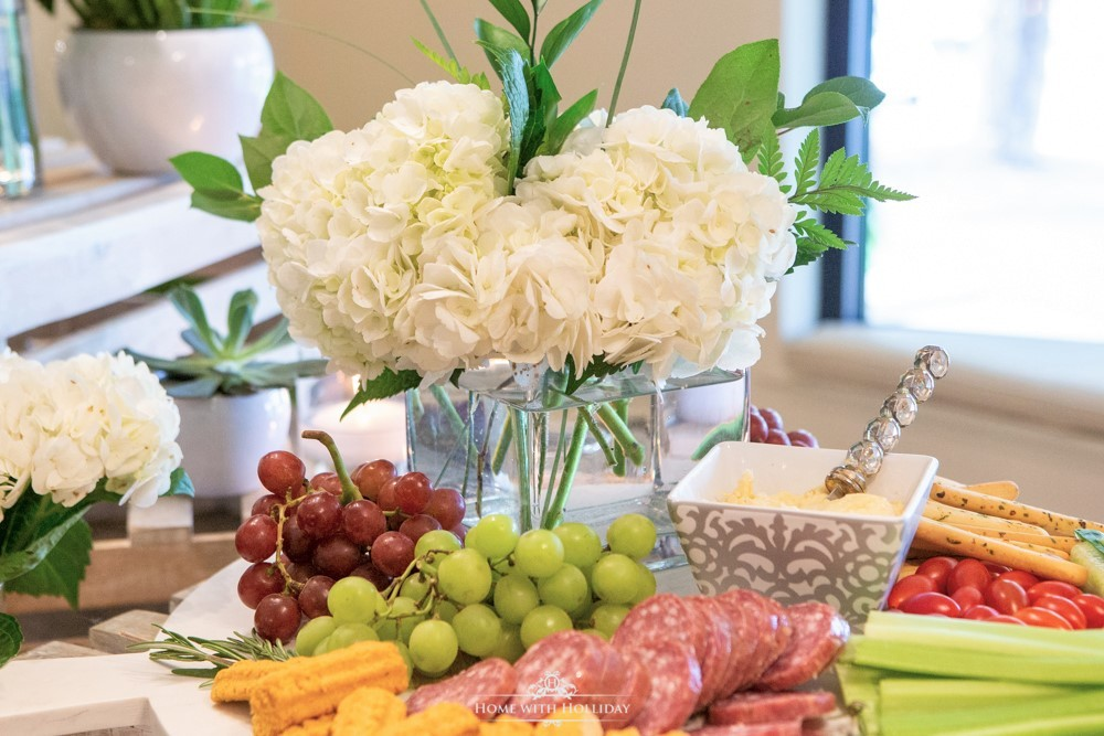 Modern Rustic Bridal Shower - Home with Holliday