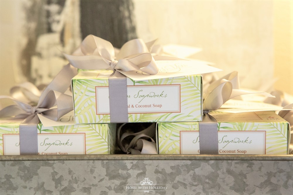 Modern Rustic Bridal Shower Party Favors - Home with Hollida