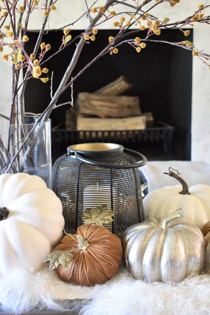 Our Warm and Cozy Fall Coffee Table Styling