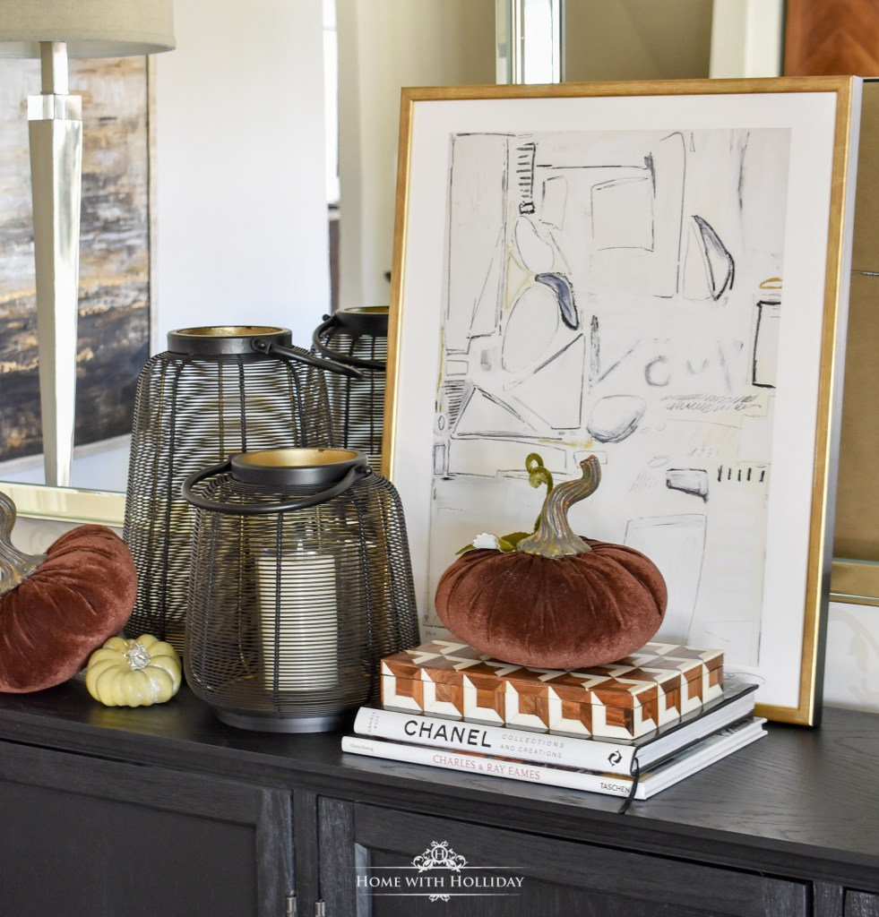 Rustic Pumpkin Fall Tablescape - Home with Holliday