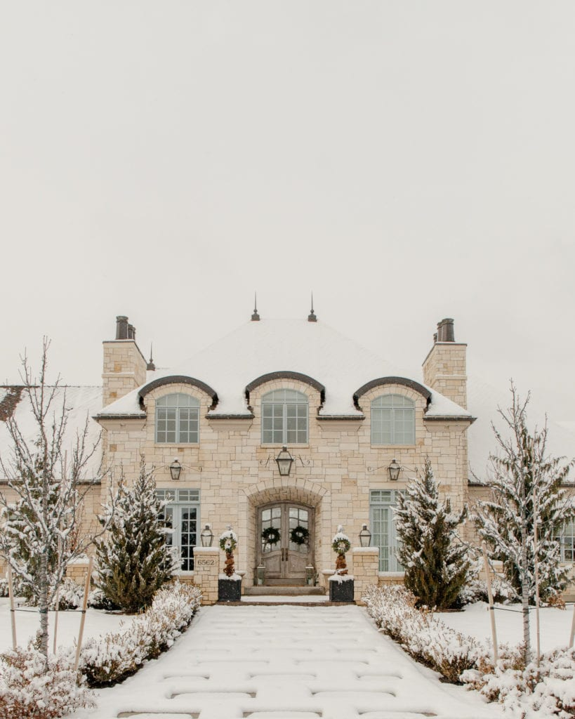 Decorated Christmas Homes