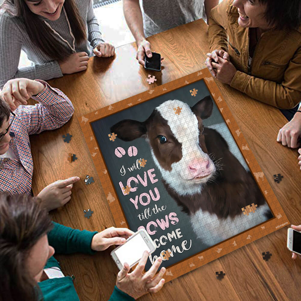 Download I Will Love You Til The Cows Come Home Jigsaw Puzzle ...