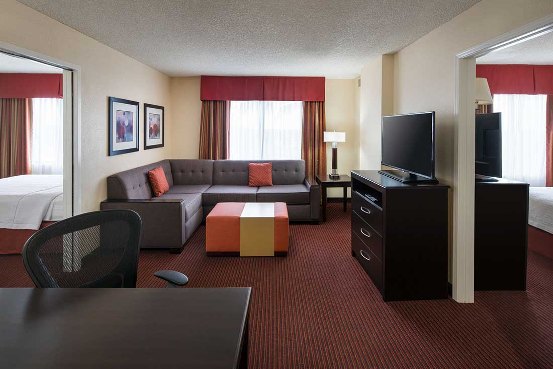anaheim hotels with kitchen near disneyland single lever faucet homewood suites by hilton main gate area 2 queen bedroom bath suite
