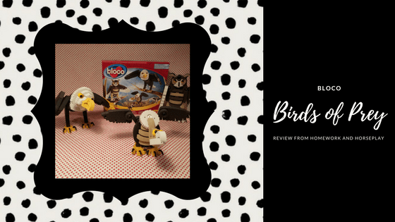 Bloco Birds of Prey Review from Homework and Horseplay