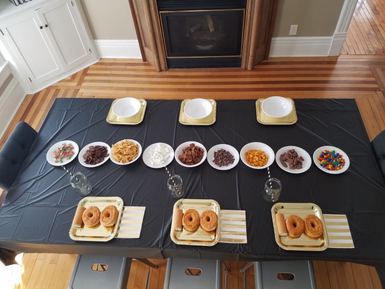 Tea Time Tuesday 100th Day Table H&H