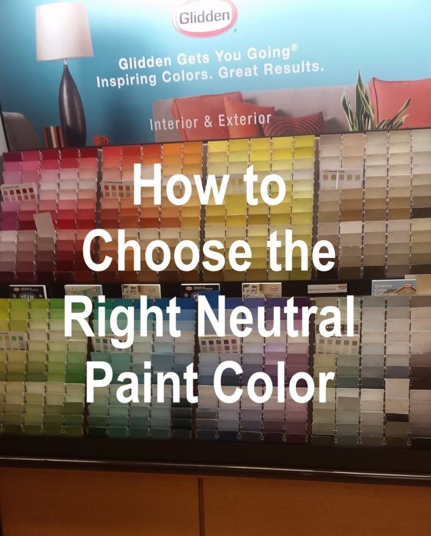 How to Pick the Right Neutral Paint | HomeWork Design Co.