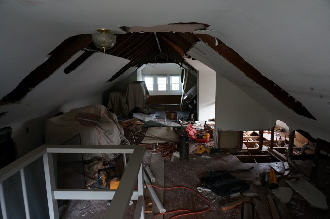 Attic Before - Mid Demo