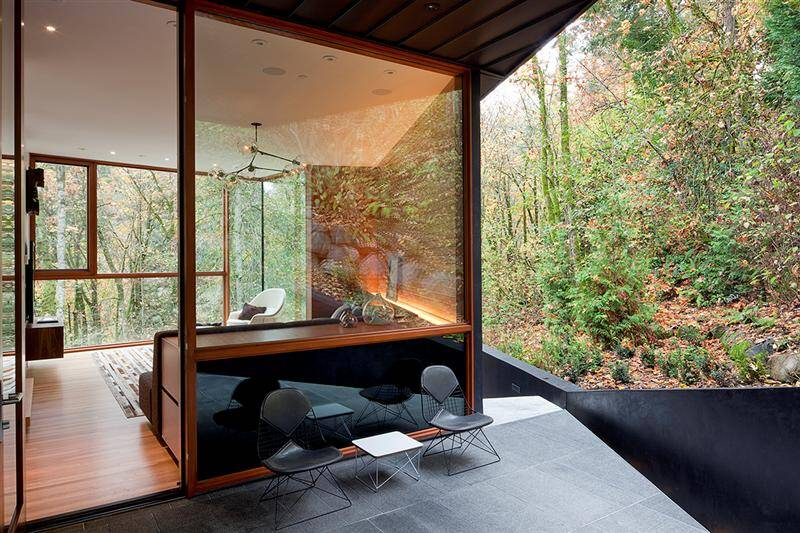 Hoke Residence My Dream of a House in the Forest
