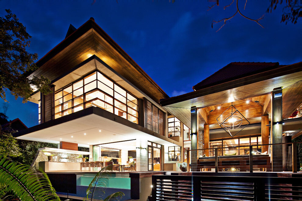 A dream house with wow effect. by Metropole Architects