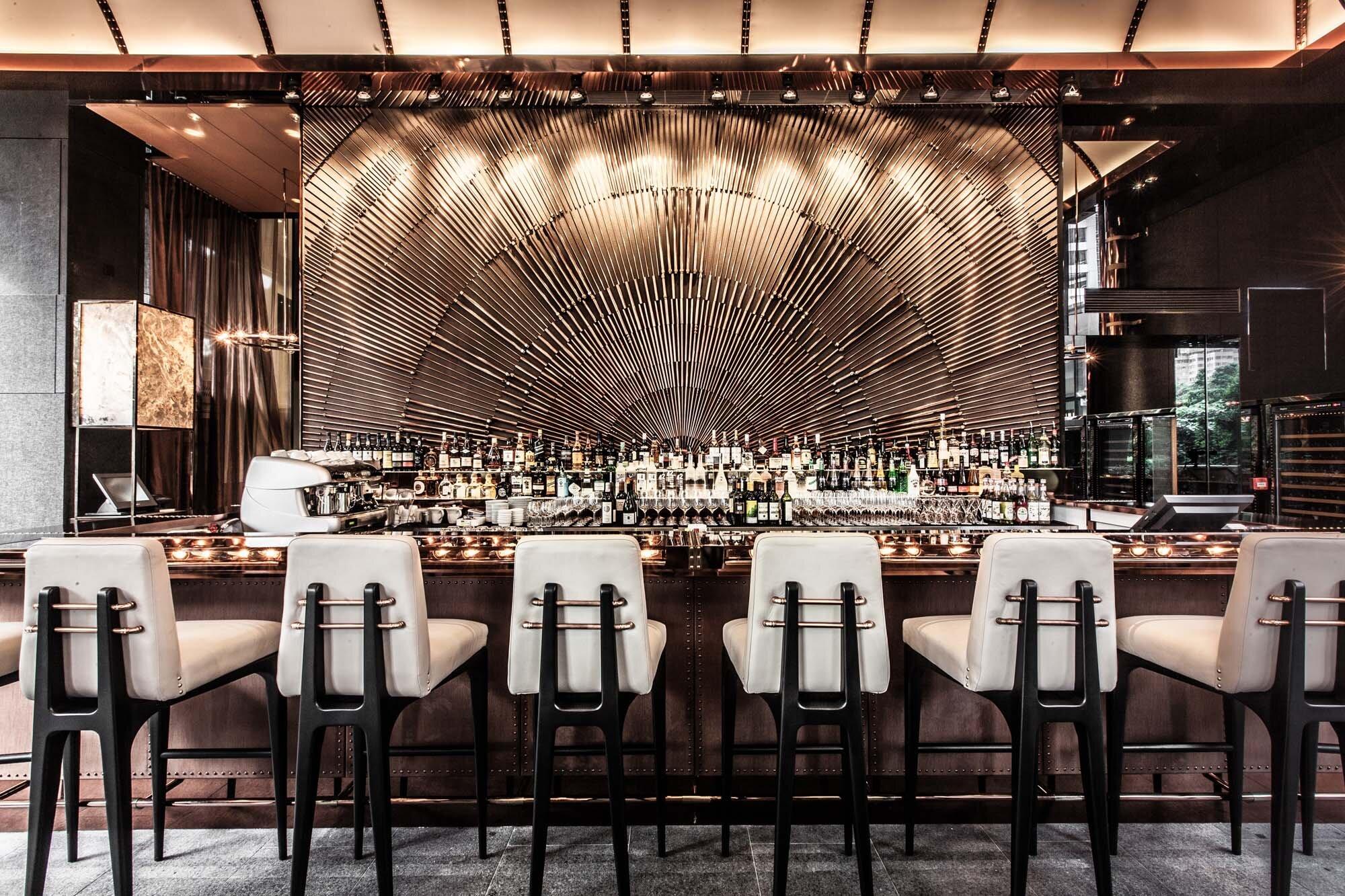 Ammo restaurant  a futurist and retro design by Joyce Wang