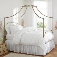 Bedroom ideas - canopy bed with contemporary design