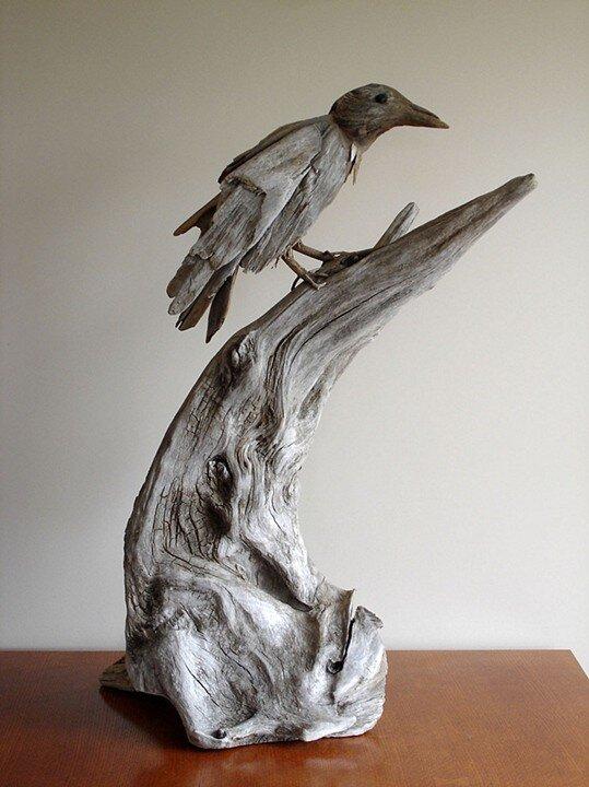 Driftwood Sculptures By Vincent Richel