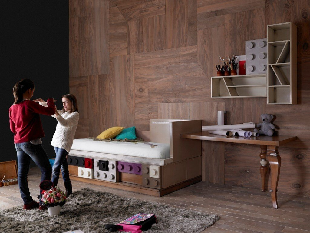 Lego Furniture For Childrens Rooms By Lola Glamour