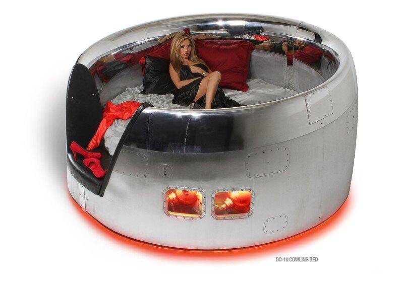 MotoArt  Futuristic furniture from retired airplanes A