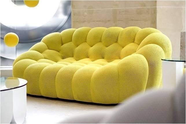 Bubble Sofa by Sacha Lakic stylish colourful and handmade