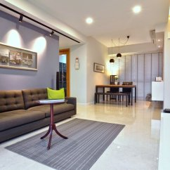 White Sofa Modern Living Room Ashley Furniture Serial Number Dakota Crescent Apartment: Earth Tone, Minimalist And ...