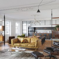 Eclectic interior design for an attractive and cozy home