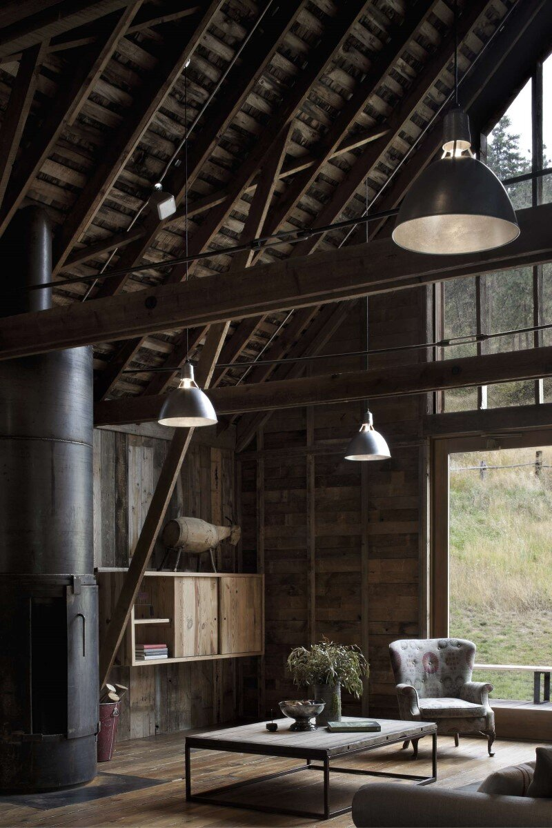 Old Barn Renovated and Converted into a ThreeBedroom Retreat