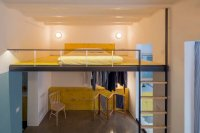 Loft Bed is a Good Option for Rooms with High Ceilings