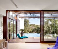 Two-Storey House with Oversized Windows, Clean Lines, and ...