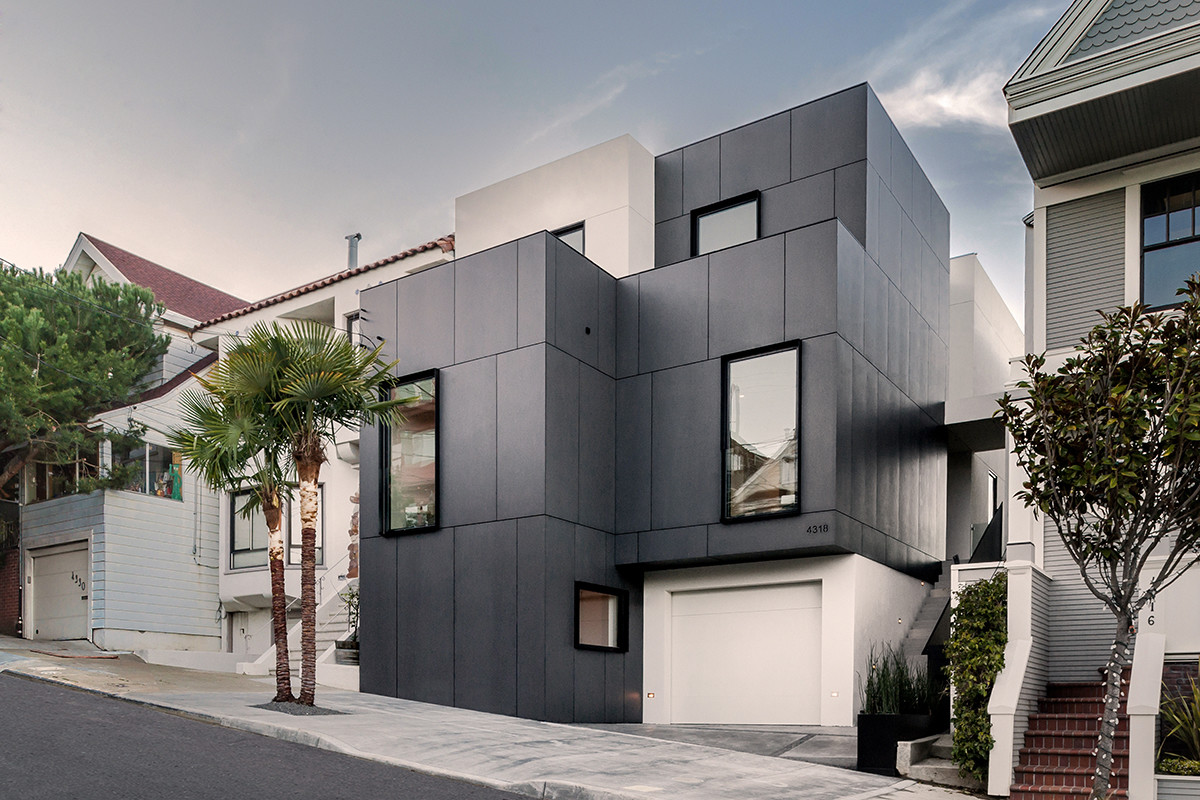 3 story house by