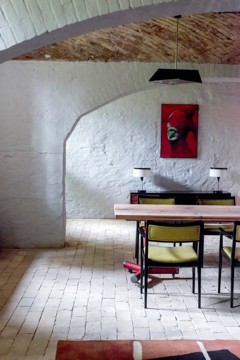 Summer Flat near Berlin with Vintage Polish Czech and Danish Furniture
