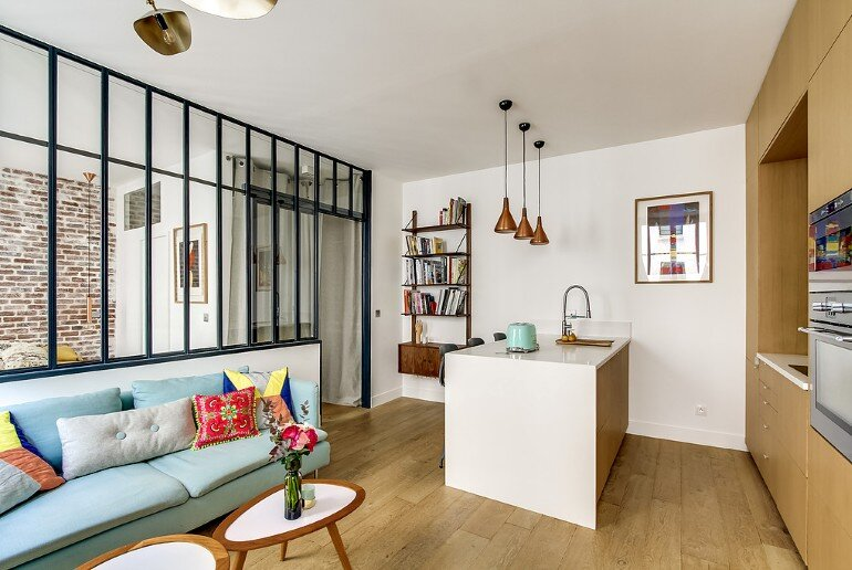 36 SquareMeters Apartment Design Optimized by Transition ID