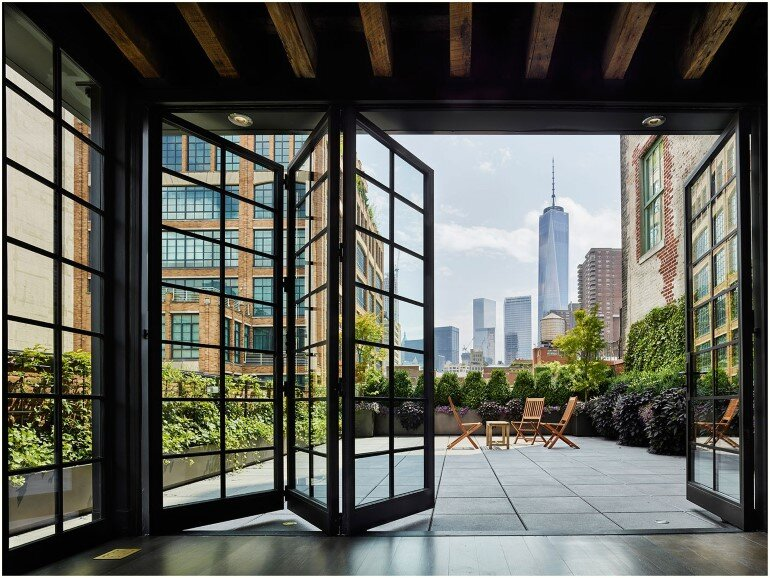 Tribeca Loft  1892 Building Transformed into a Home in St