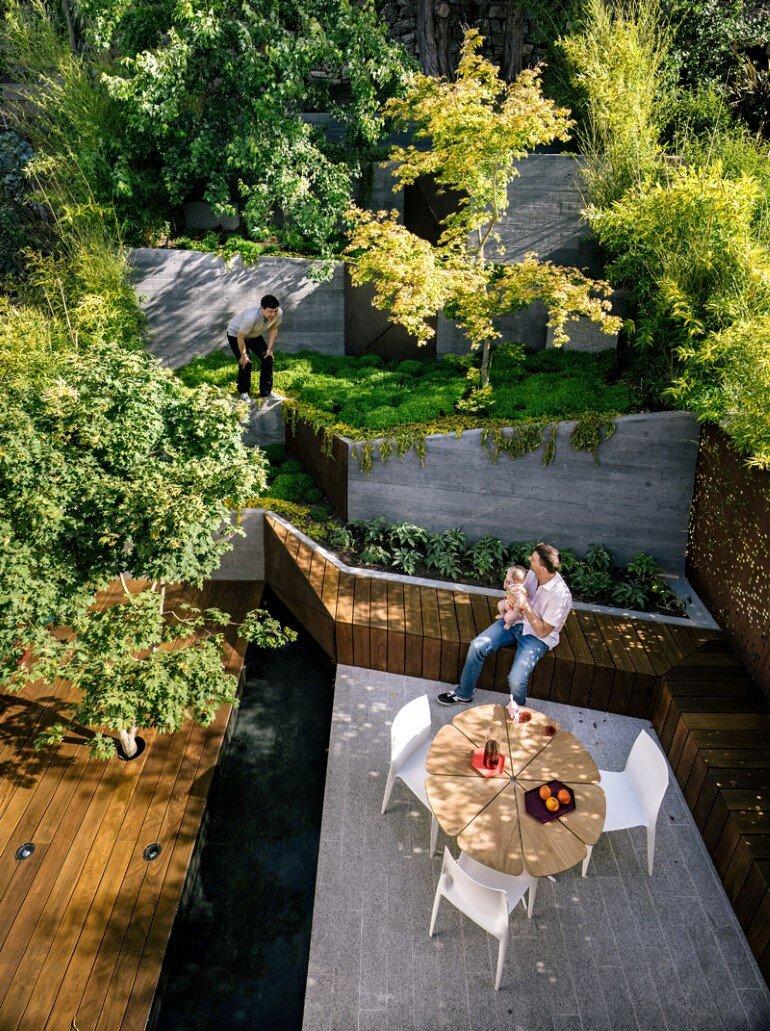 Zen Outdoor Living Space Hilgard Garden