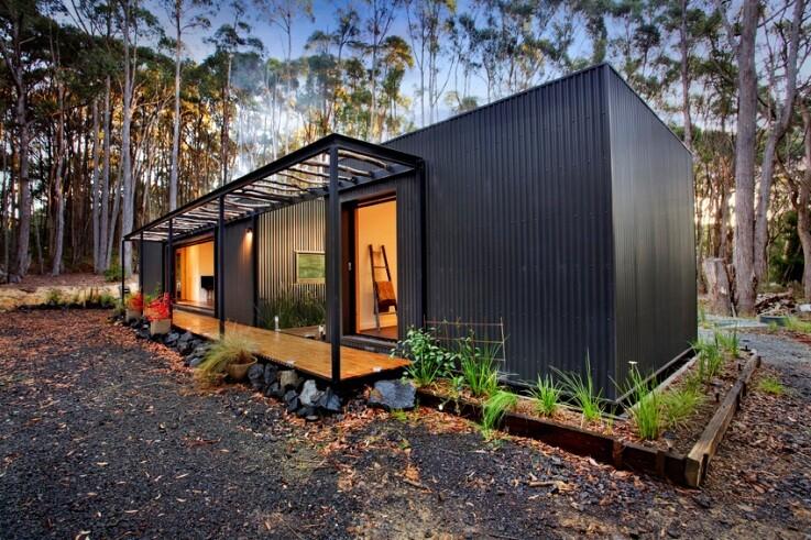 Musk Bunker Modern Prefab Cabin by Modscape