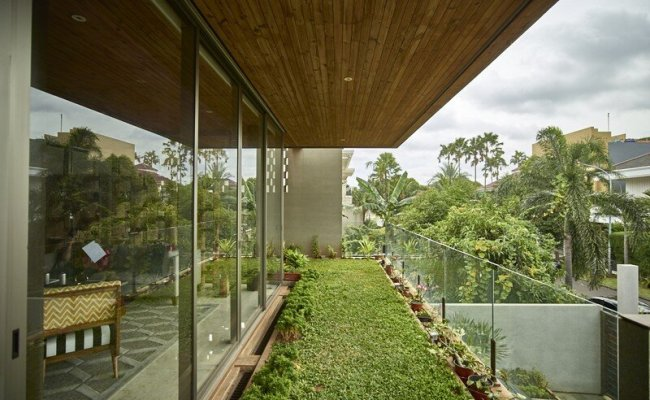 Tropical Open House In Jakarta Indonesia Raw Architecture