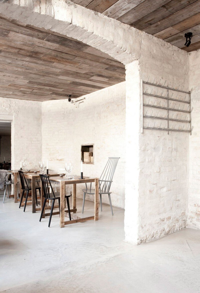 Host Restaurant Rustic Scandinavian Interior by Norm