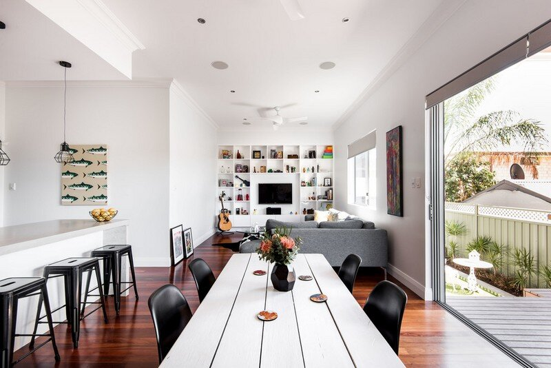 Old Maylands Cottage Turned into a MidCentury Modern Home