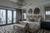 Rustic Mountain House with Zen Interiors / Cashmere Interior