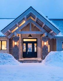 Luxury Rustic Mountain Home Interiors