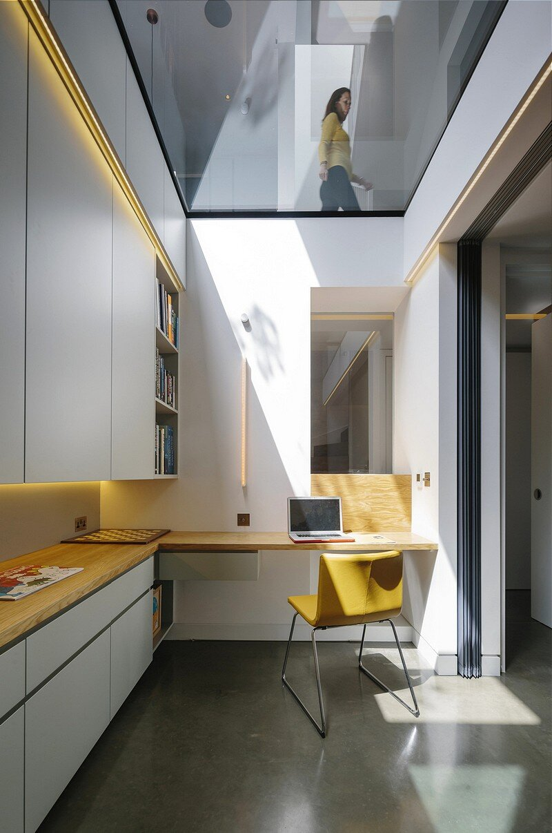 double glazed kitchen doors cabinets okc brackenbury house by neil dusheiko architects
