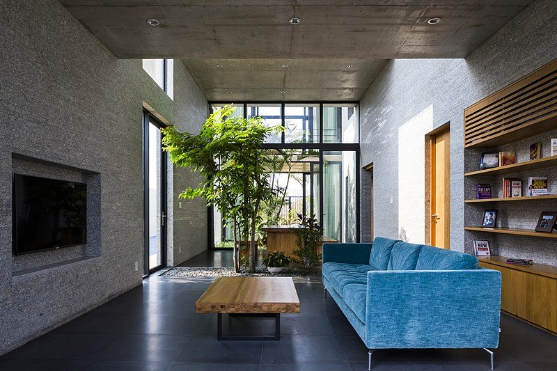 Binh House by Vo Trong Nghia Architects  Vietnam