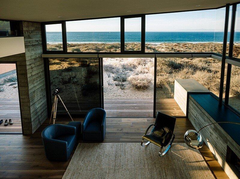 Monterey Beach House by Sagan Piechota Architecture