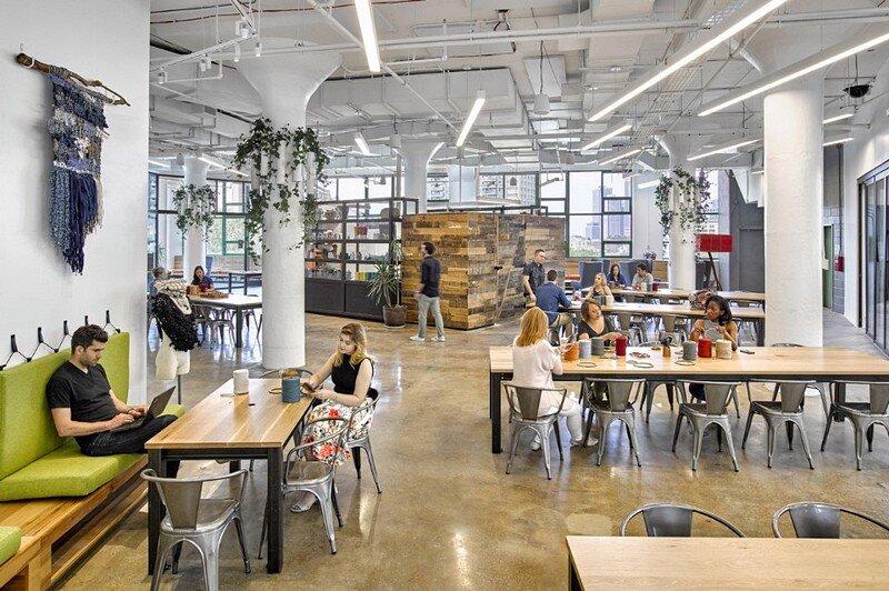 Etsy Offices In New York City Gensler